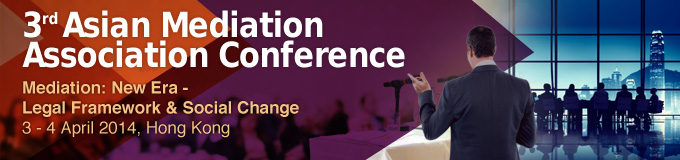 Think, asian mediation association conference